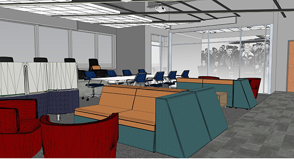 strikewerx concept building showing office area