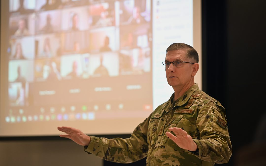 AFGSC hosts first virtual Squadron Commanders and Spouses Course