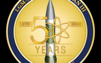 Air Force celebrates 50th anniversary of the Minuteman III ICBM